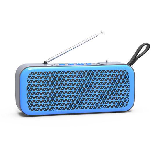 L8 Portable OEM Wireless Music Mini FM Radio Bluetooth Speaker