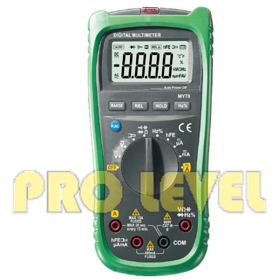 Professional 4000 Counts Digital Multimeter (MY78) pictures & photos