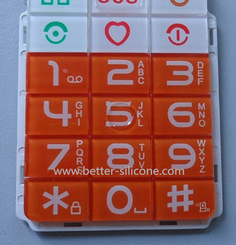 Silicone Rubber Keypad with Plastic Keypad Cover pictures & photos