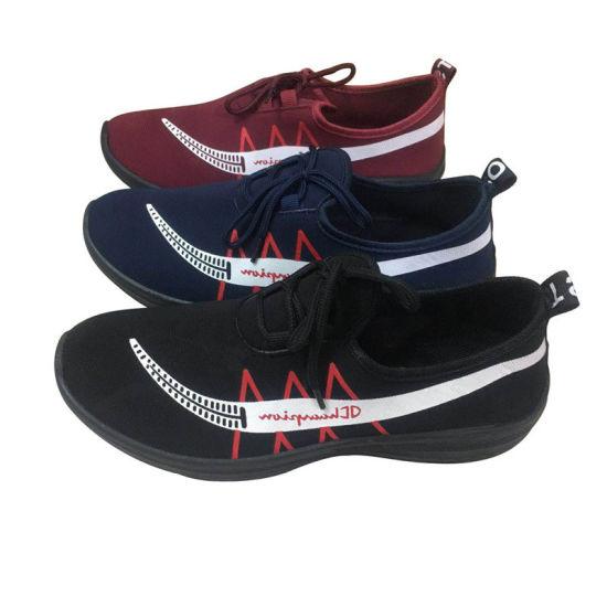 New Style Joker Men Injection Casual Footwear Sneaker Sports Running Shoes (SY207-9)