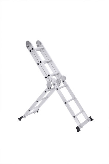 High Quality Aluminum Multi-Purpose Ladder with Big Joint pictures & photos