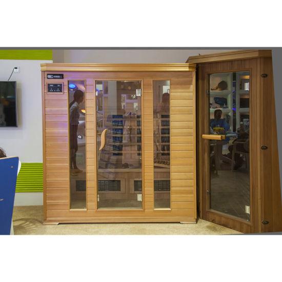 2015 Latest Design Luxury Traditional Culture Stone Dry Sauna Room