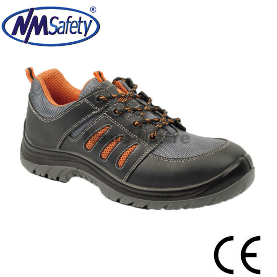 Nmsafety Puncture Resistant Working Safety Shoes pictures & photos