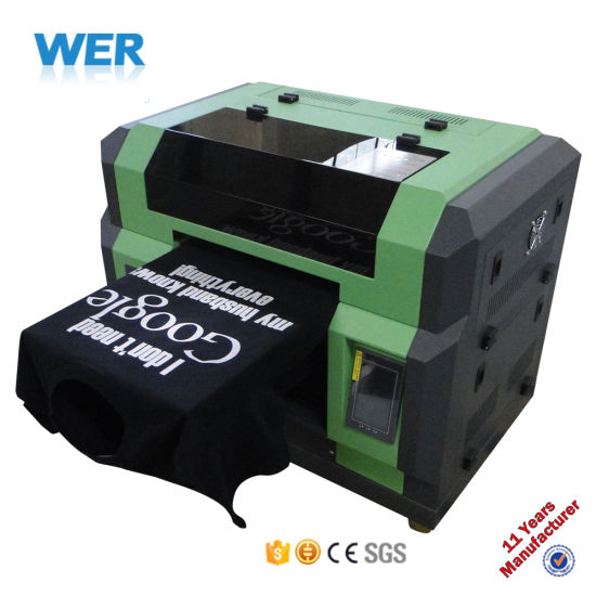 China ce approved a3 small size t shirt printing machine for T shirt printer price
