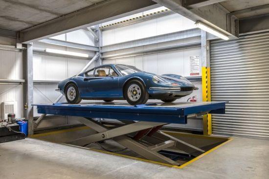 Underground Basement Hydraulic Scissor Car Lift