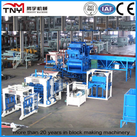 Fully Automatic Block Production Line (Open Type) pictures & photos