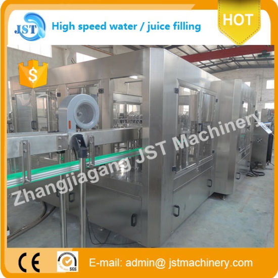 Automatic Water Rinser Filler Capper Filling Machine pictures & photos