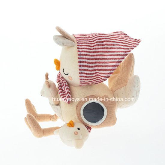 Activity Plush Hen-Organic Cotton Collection