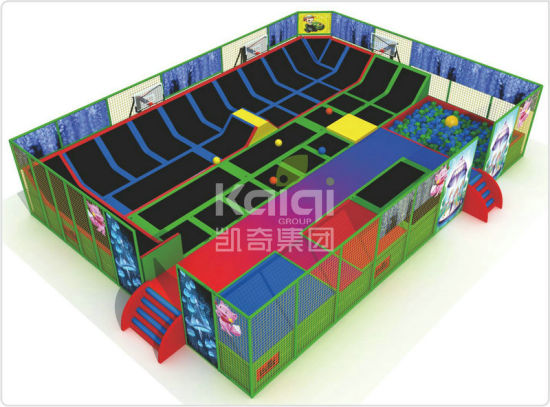 Kaiqi Customized Trampolines Combined Different Activities (KQ60154A-B) pictures & photos