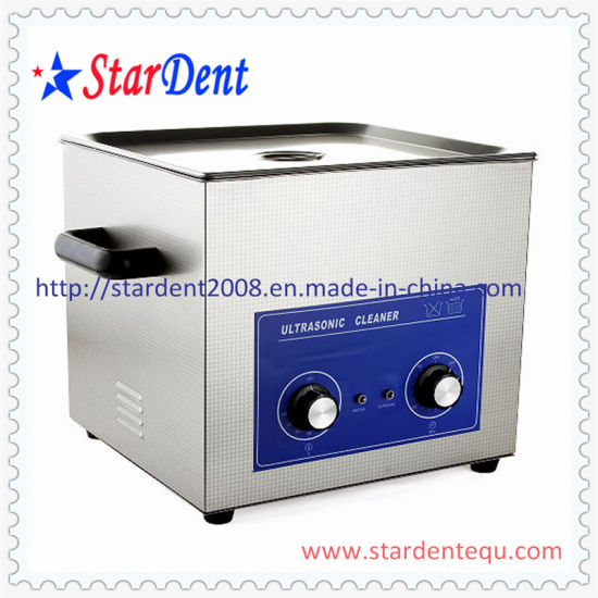 Dental Stainless Steel Digital Tabletop Ultrasonic Cleaner (20L) of Dental Equipment pictures & photos