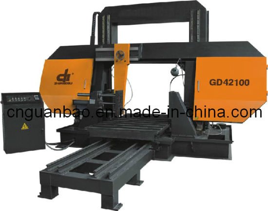 Double Column (Square) Band Saw Gd42100 pictures & photos