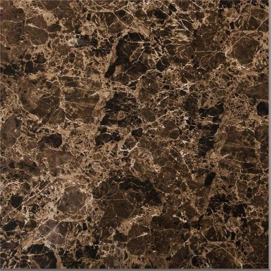 Glazed Glossy Surface Dark Brown Color