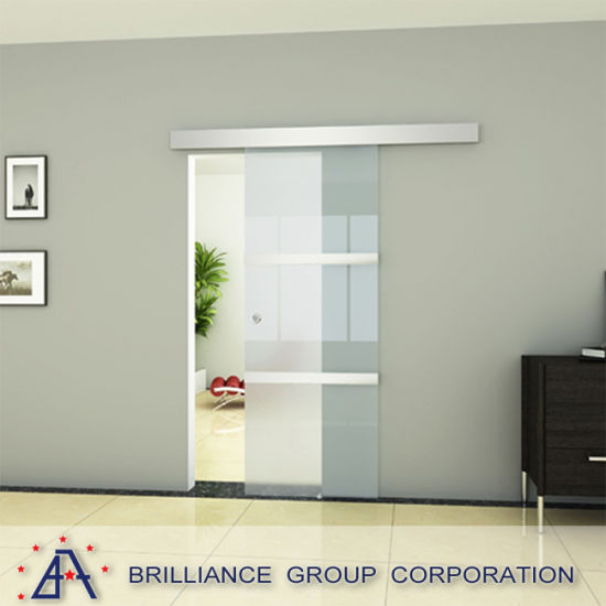 Aluminium Hanging Sliding Door With As2047