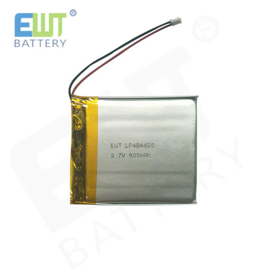 Ewt Ultra Thin Li-Po Lithium Polymer Cell Battery Lp484450 3.7V 900mAh
