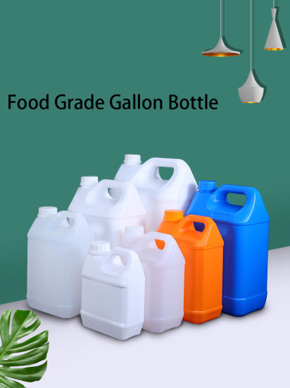 One Gallon/ 4L Hand Sanitizer/Disinfector Empty HDPE Bottle