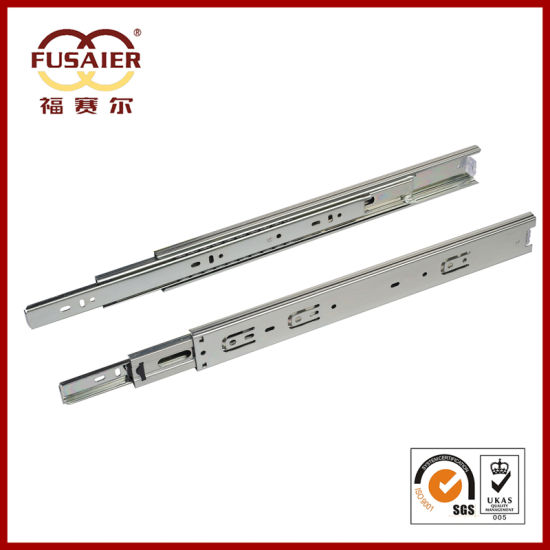 High Quality 45mm Cabinet Hardware Telescopic Channel pictures & photos