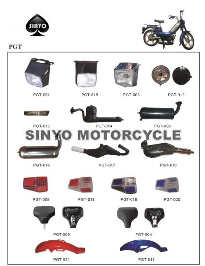 Hot Sell Pgt Various Kinds Motorcycle Spare Parts pictures & photos