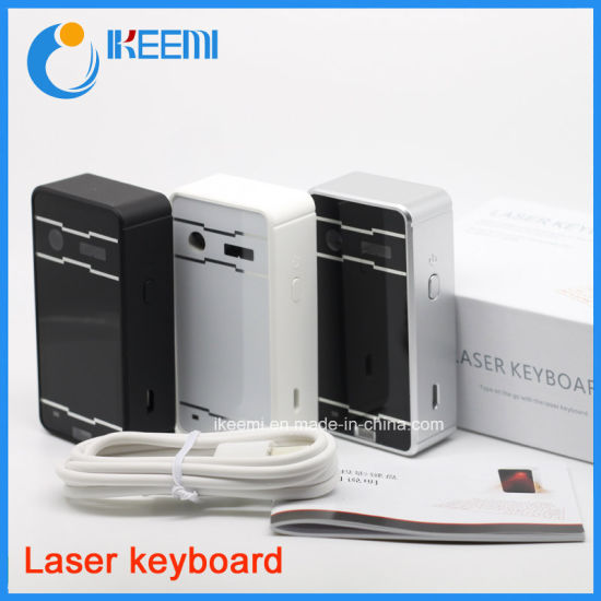 Mini Wireless Bluetooth Virtual Projection Laser Keyboard pictures & photos