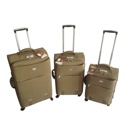 Fabric Trolley Bags Luggage Set Travel Bags Jb-D017 pictures & photos
