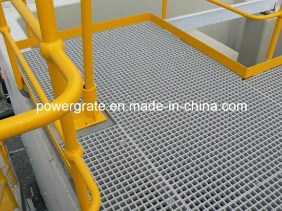 Fiberglass FRP Molded Grating for Platform pictures & photos