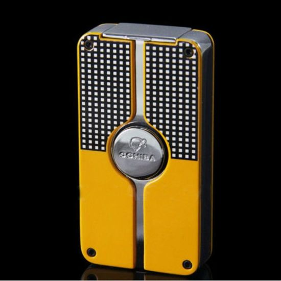 Cohiba Torch Blue Metal Gas Cigar Lighter with Punch (ES-EB-001)