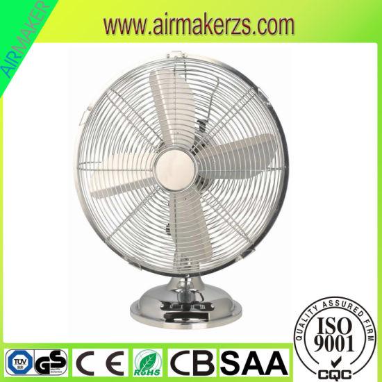 12'' Metal Antique Table Fan/ Desk Fan/Metal Fan with SAA/GS/Ce