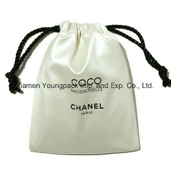4c77082c0 Personalized Custom Printed Luxury Small White Satin Fabric Jewelry Pouch  pictures & photos