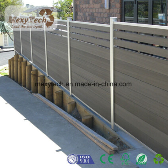 China Fencing New Design Trellis Composite Fence China Composite