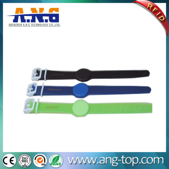 Transparent RFID Silicone Rubber Wristband