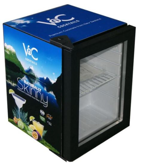 Frost Free Beverage Energy Drink Display Mini Bar Fridge (JGA-SC21)