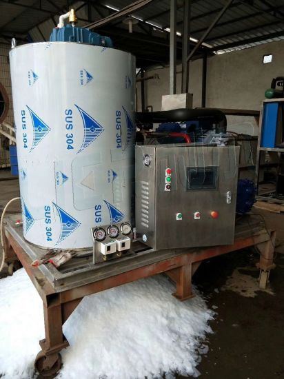 Ce Approved Stainless Steel Flake Ice Maker Machine with Cheap Price pictures & photos