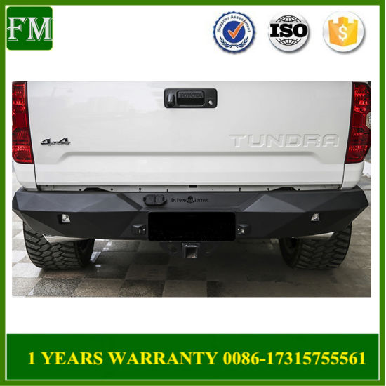 China rear steel back bumper for toyota tundra accessories 2014 2017 rear steel back bumper for toyota tundra accessories 2014 2017 publicscrutiny Image collections
