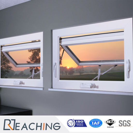 Top Quality Construction Australian Standard Vinyl Awning Window / UPVC Awning  Window