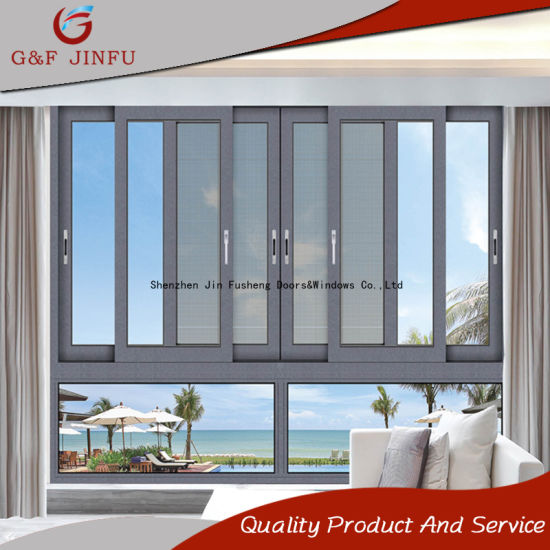 Attirant Aluminium Frame Double Glazed Sliding Window/Door With Fly Screen
