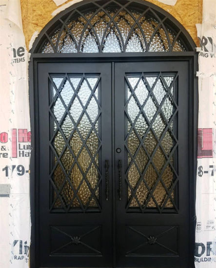 China Wrought Iron Front Doorsgrill Design Doors China Elegant
