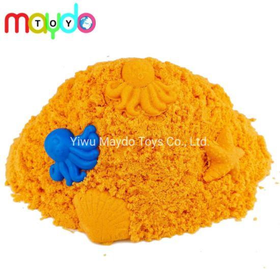 Wholesale Bulk Orange Kinetic Space Sand Kids Play Sand Toy