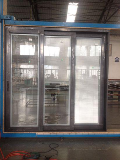 China Double Glazed Glass Dooraluminum Windows And Door Grills