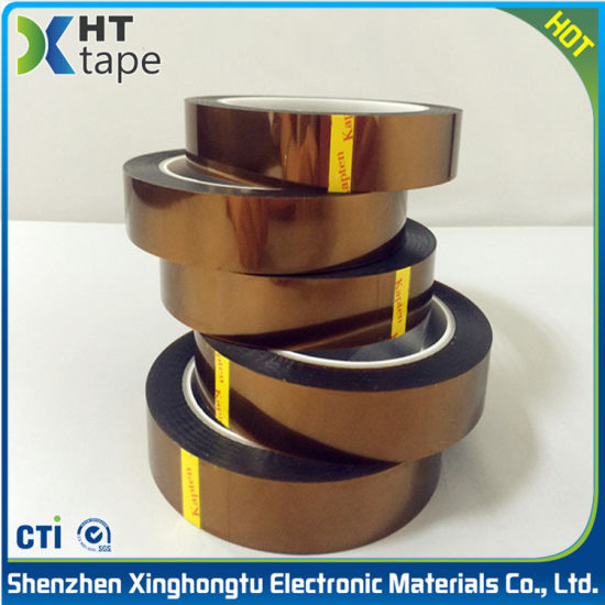 Brown Polyimide Adhesive Tape High Temperature Tape pictures & photos