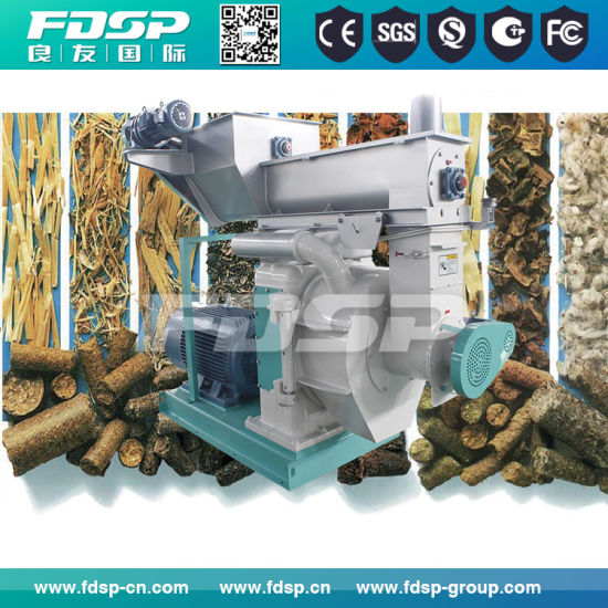Hot Sale Ring Die Pelletizer for Wood Pellet Making Supplier pictures & photos