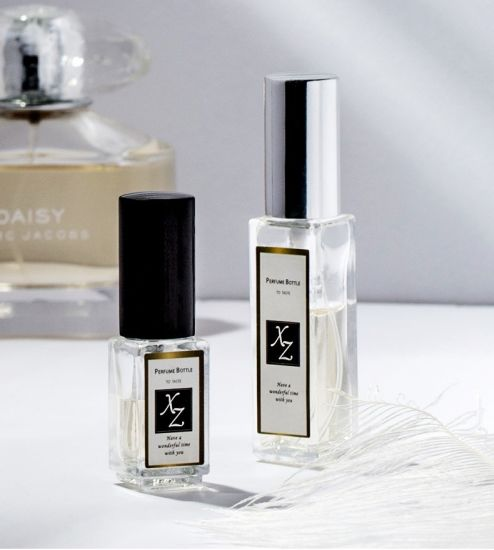 High-End Small Glass Spray Bottle High-End Sample Perfume Dispenser for Personal Glassware or Perfume