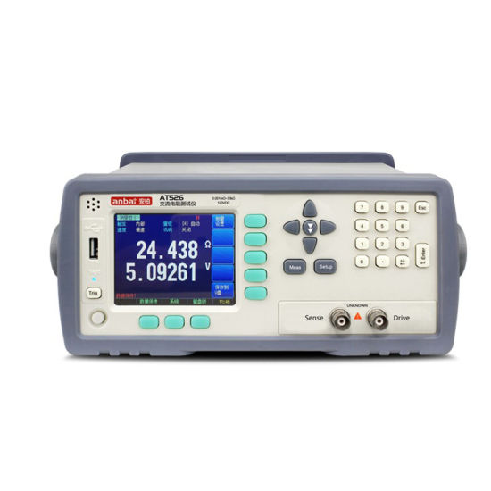 At526 120V 33K Ohm Battery Tester for Internal Resistance with Probe Test Clip