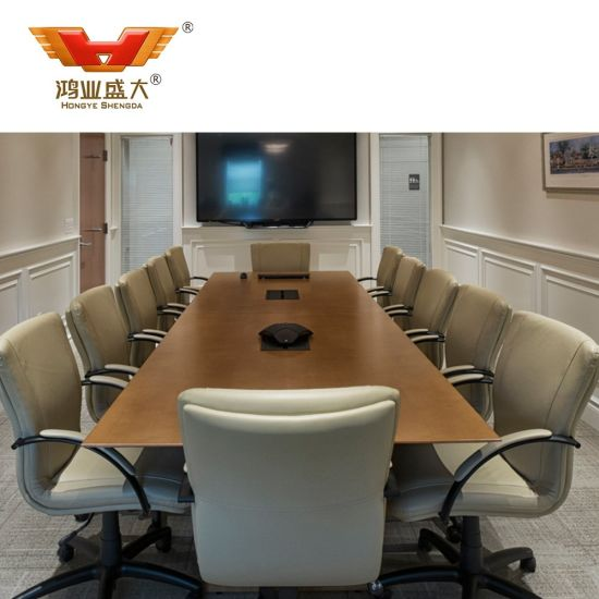 Elegant White Conference Room Office Training Table Office Furniture