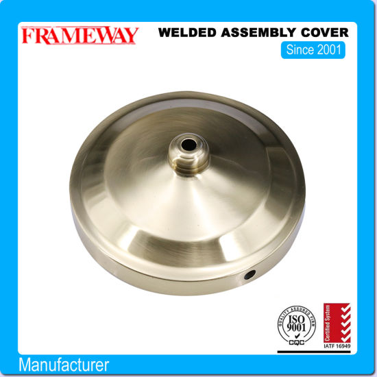 Electroplated Deep Draw Steel Welded Assembly Cover Light Fittings