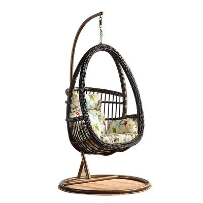 Patio Outdoor Hanging Egg Chair Garden Furniture Pe Rattan Swings Chair Leisure Chair China Swing Hanging Chair Pe Chair Made In China Com