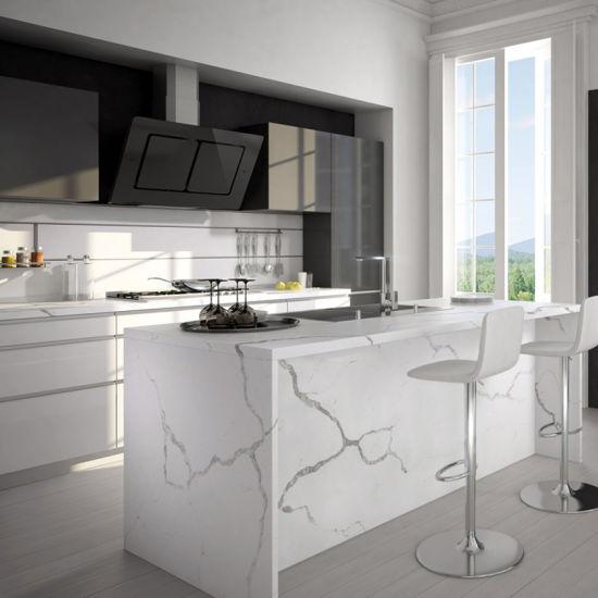 Quartz Calacatta Countertops Granite Carrara Slabs Price China Artificial Marble for Hotel Project