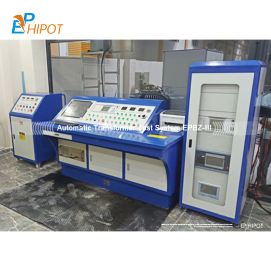 Automatic Integrated Transformer Test Bench