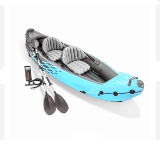 High Quality PVC Plastic Pedal Kayak Fishing Kayak with Propeller Canoe Plastic Pedal Canoe for Sale