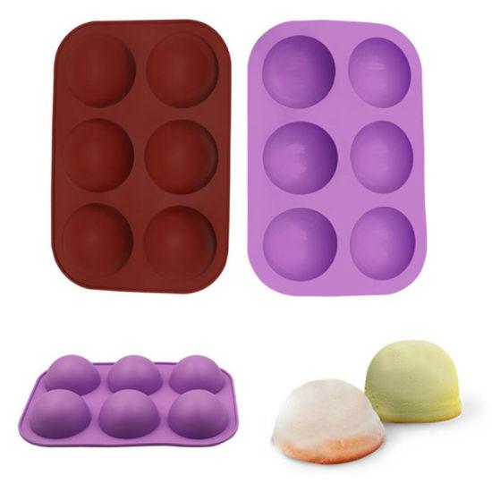 Silicone Pudding Jelly Chocolate Fondant Mould Ball Shape Kitchen Tool