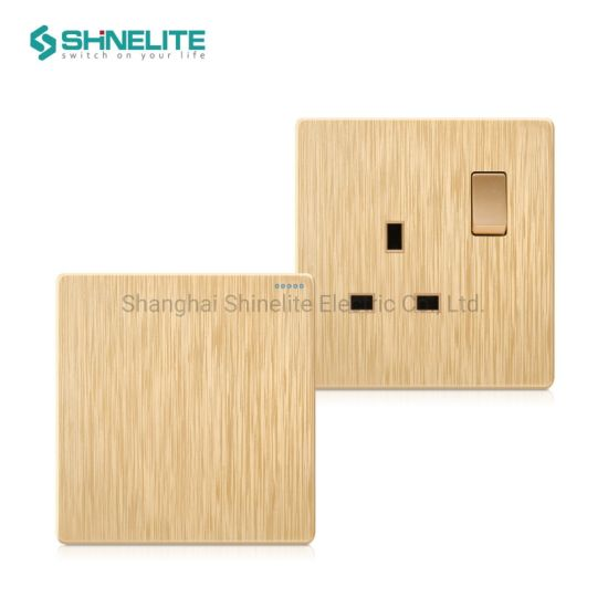 Plastic 2 Gang Electrical Wall Light Switch