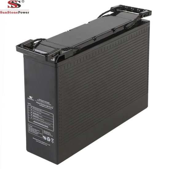 Front Terminal 12V 100ah VRLA Battery AGM Battery UPS Battery Lead Acid Deep Cycle Battery Rechargeable Maintenance Free